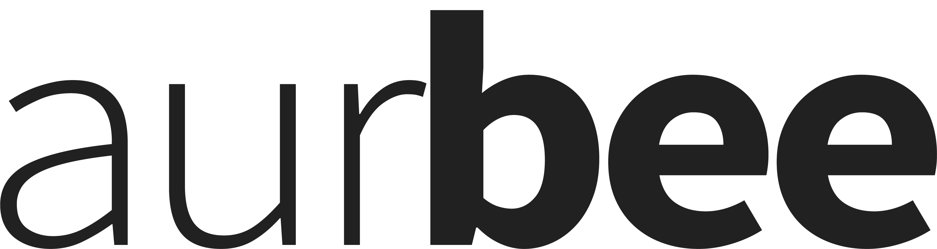 aurbee-letters-black